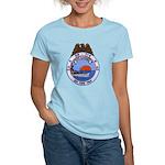USS HAMNER Women's Light T-Shirt