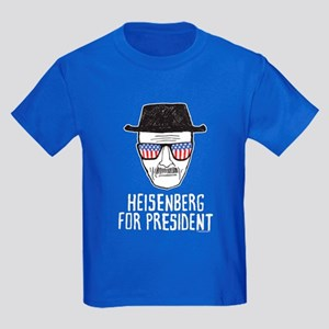Heisenberg for President Kids Dark T-Shirt