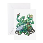 Creature Feature! Greeting Cards