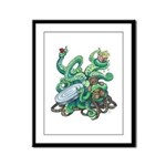 Creature Feature! Framed Panel Print