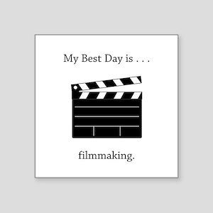 Best Day Filmmaking Gifts Sticker