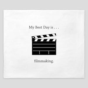 Best Day Filmmaking Gifts King Duvet