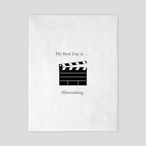 Best Day Filmmaking Gifts Twin Duvet
