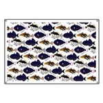 Four Pacific Triggerfish Pattern Banner