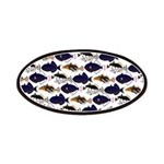 Four Pacific Triggerfish Pattern Patch