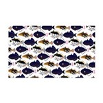Four Pacific Triggerfish Pattern Wall Decal