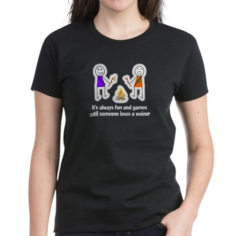 It's All Fun And Games Women's Dark T-Shirt