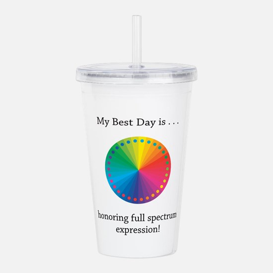 Best Day Colorful Expression Gifts Acrylic Double-