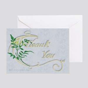 Yellow Flower Thank You Card