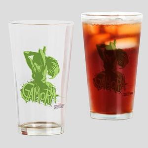 GOTG Gamora Green Drinking Glass