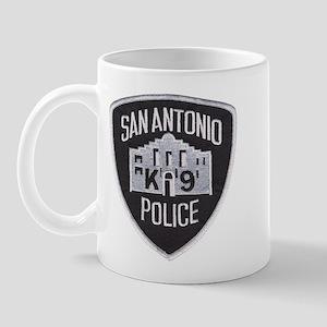San Antonio PD Canine Mug
