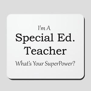 Special Ed. Teacher Mousepad