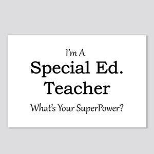 Special Ed. Teacher Postcards (Package of 8)