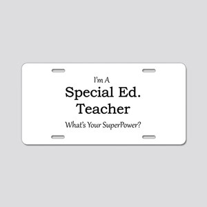 Special Ed. Teacher Aluminum License Plate