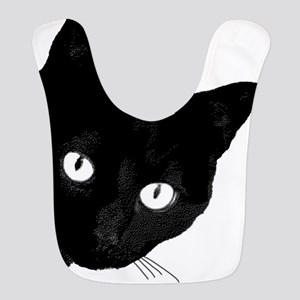 BLACK CAT Polyester Baby Bib