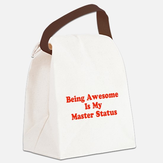 Sociology: Master Status Canvas Lunch Bag