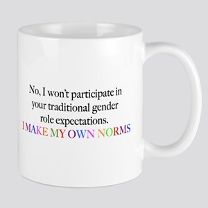Sociology: Make Your Own Norms Mugs