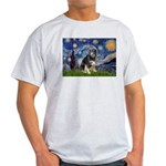 Starry - Aussie Shep (tri-L) Light T-Shirt