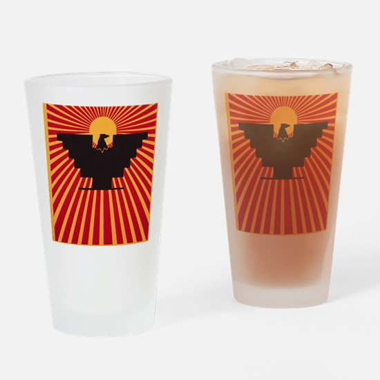 Huelga Drinking Glass