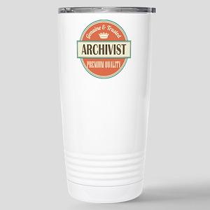 Archivist Stainless Steel Travel Mug