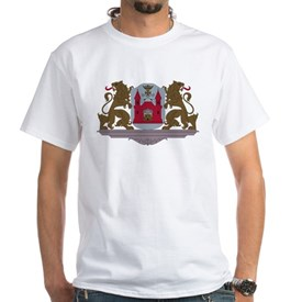 Riga Coat of Arms White T-Shirt