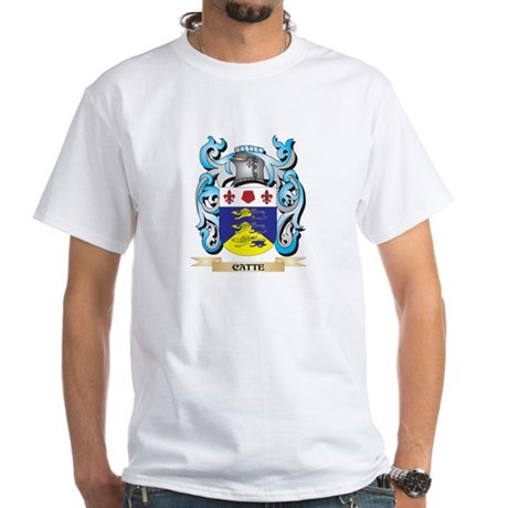 Catte Coat of Arms - Family Crest T-Shirt