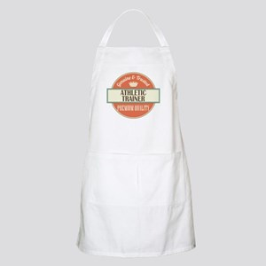 athletic trainer vintage logo Apron