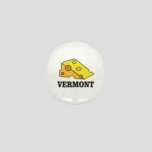 vermont cheese Mini Button