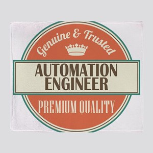 Automation Engineer Throw Blanket