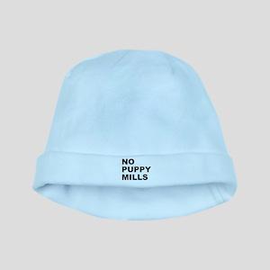No Puppy Mills baby hat