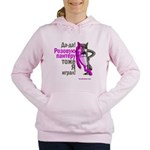 Russian Pink Wolf-Panther Women's Hooded Sweatshir