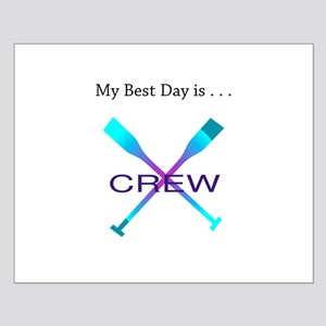 Best Day Rowing Crew Gifts Posters