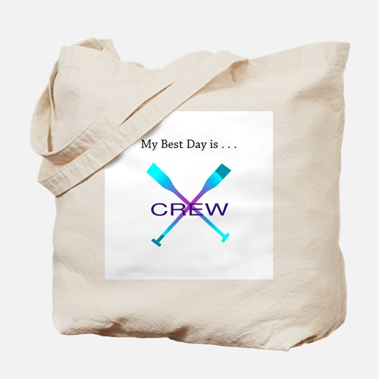 Best Day Rowing Crew Gifts Tote Bag