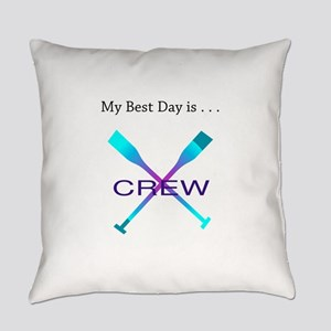 Best Day Rowing Crew Gifts Everyday Pillow