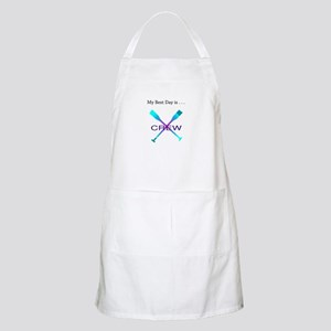 Best Day Rowing Crew Gifts Apron
