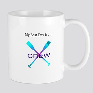 Best Day Rowing Crew Gifts Mugs