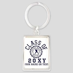 Class of 20?? Baseball Portrait Keychain