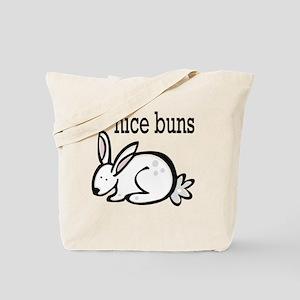 nice buns bunny Tote Bag