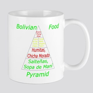 Bolivian Food Pyramid Mug