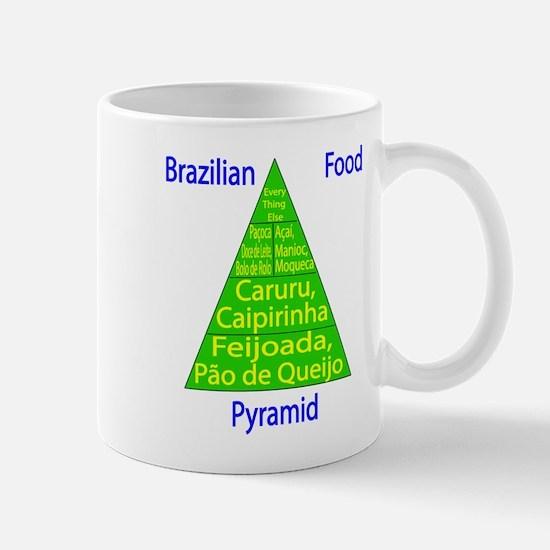 Brazilian Food Pyramid Mug