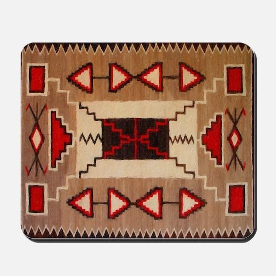 Indian Blanket 8 Mousepad