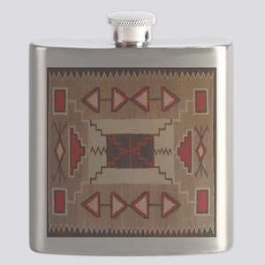 Indian Blanket 8 Flask