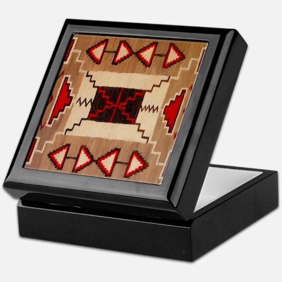 Indian Blanket 8 Keepsake Box