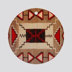Indian Blanket 8 Ornament (Round)