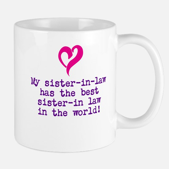 Cute Sister in law Mug