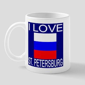 I Love St. Petersburg Mug