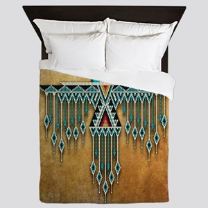 Southwest Native Style Thunderbird Queen Duvet
