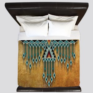 Southwest Native Style Thunderbird King Duvet