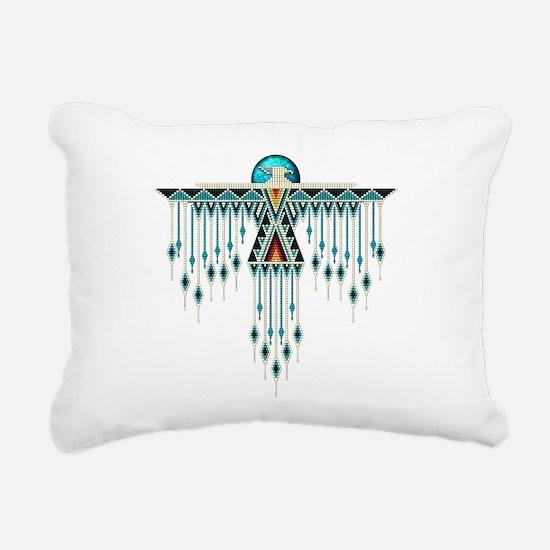Southwest Native Style T Rectangular Canvas Pillow