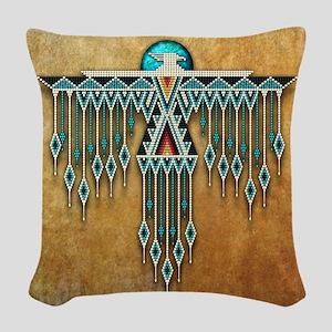 Southwest Native Style Thunder Woven Throw Pillow